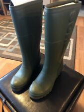 0dd6afb400e1 Sorel Joan Tall Rain Wedge Rubber Boots Size US 8.5 Color Blue New