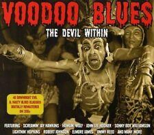 VOODOO BLUES-THE DEVIL WITHIN 2 CD NEUF JOHN LEE HOOKER/JOHNNY TEMPLE/JOSH WHITE