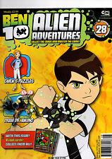BEN 10 ALIEN ADVENTURES MAGAZINE--2009  ISSUE 28# HATCHETTE