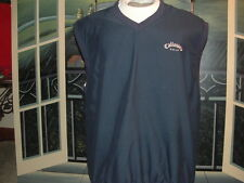 CALLAWAY GOLF VEST(Brushed Microfiber).Medium.By: Calaway Golf Sports.>NICE>LQQK