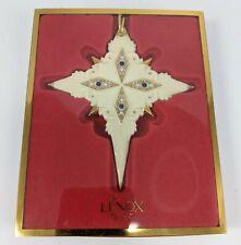 Lenox China Jewels Nativity Star of Bethlehem Christmas Holiday Ornament