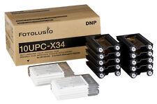 "Sony x34 Mediaset - 3,5x4"" (7x9,5 cm) 300 stampe 10upc-x34 per upx-c300 c200"
