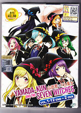 *NEW* YAMADA-KUN & THE 7 WITCHES *12 EPS + 2 OVAS*ENG SUBS*ANIME DVD*US SELLER