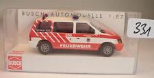 Busch 1/87 Nr. 44621 Chrysler Voyager Van Kombi Feuerwehr Attnang AT OVP #331