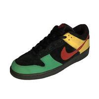 Nike Dunk Low Men's Size 10 Journeys Rasta Red Green Yellow Sneakers
