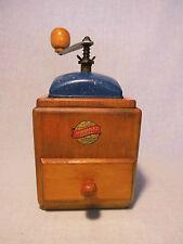 Leinbrock 's ideale Mulino Caffè Coffee grinder mill vintage bachelite BLU