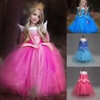 2018 niña Bella Durmiente Princesa Aurora Disfraz de fiesta cosplay Edad