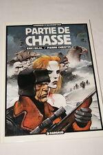 BILAL PARTIE DE CHASSE CHRISTIN  BD 1984