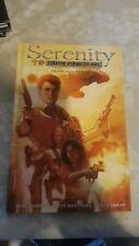 Serenity: Those Left Behind Volume 1 Hardcover Graphic Novel, Whedon Firefly!
