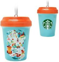 Disney Starbucks Hollywood Studios Holiday Tumbler Ornament Mug Park Icons - NEW