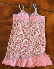 """Mary-Kate and Ashley"" Toddler Girls Pink/Blu/Green/White Floral  Dress -Size 2T"
