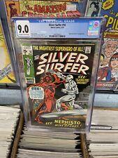 🔥 Silver Surfer #16 CGC 9.0 Nick Fury & Mephisto App New Movie 🍿 🔥
