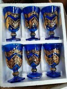 6 Pc Stylish Drinking Glass Set