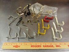21 Piece Assorted Lot Coat Closet Utility Hooks