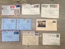 9 envelopes/cards from the commonwealth - mixed condition