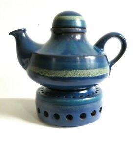 Teekanne mit Stövchen für 1,5 Liter Keramik KMK Kupfermühle Viola