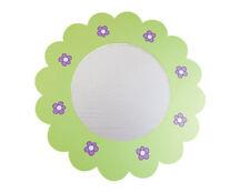 Flexa  Spiegel Wandspiegel Blume Kinderspiegel grün pink Girlie NEU