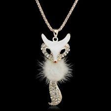 Fur Fox Necklace