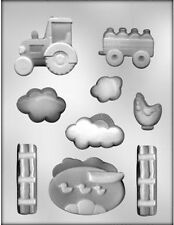 Farm Scene Chocolate Candy Mold  from CK #13680