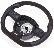 S-LINE Aplati Volant Multifonction Volant en Cuir Noir Alcantara Audi Q5 8P0124A