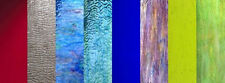 PICK YOUR COLORS Stained Glass Sheets Hobby Pack Mosaic Glass Supplies