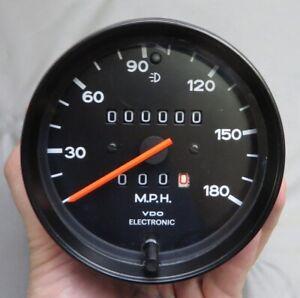 1976-89 Porsche 911 930 180MPH Speedometer - 911 641 534 00 - Dated 4/87