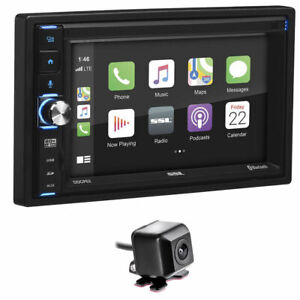 """Sound Storm Labs DDCP62 2 DIN 6.2"""" Bluetooth In-Dash Receiver w/ Backup Camera"""