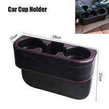 Auto Car Seat Gap Organizer Storage Box Drink Holder Pocket Side Phone Holder