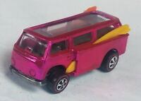 Restored Hot Wheels Redline - 1969 - Volkswagen Beach Bomb - Pink