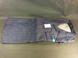Antique Denim Jacket Edf Taille 52 Vintage Suit Blue de Travail Vintage