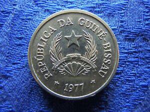 GUINEA BISSAU 50 CENTAVOS 1977, KM17 AU