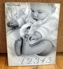 Robert Doisneau 1,2,3,4,5 12345 Gravure Photographs Original 1955 ED Dust Jacket
