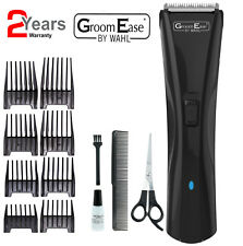 Wahl 9698-417 GroomEase Mens Cord/Cordless LED Hair Clipper Trimmer New