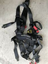 NOS 4-Point Seat Belt Harness Restrains , Helicopter Gunner Seat HMMWV M998
