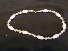 Women's - NECKLACE - 18 inches - very light pink - Excellent condition