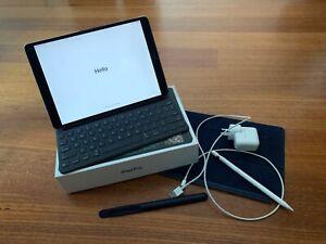Apple iPad Pro 10.5'', 256GB, Wi-Fi, Cellular 4G, Keyboard, Pencil, Space Grey