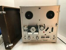 AKAI SOLID STATE X-150D REEL TO REEL DECK WOODEN COVER