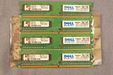 Lot of 8 KVR667D2S8F5//1GI 1GB PC2-5300F Fully Buffered ECC Server Memory C-10
