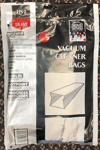5x HOME SPARE HS2 HOOVER Junior Senior Sprite Lark GOBLIN HOTPOINT Hoover Bags
