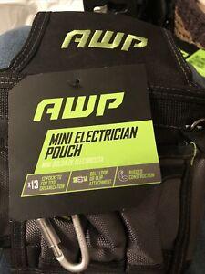 AWP Mini Electrician Nylon Tool Pouch - NWT