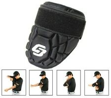 GB5 Baseball Softball Batter Elbow Guard Batting Protective Shield Black