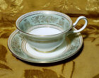 WEDGWOOD *COLUMBIA GOLD SAGE GREEN* CUP & SAUCER SET(S) ENGLAND buy 1 or more