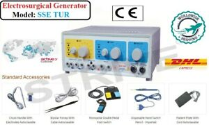 400W Electrosurgical Unit Machine Generator Cautery Diathermy Diathermy machine