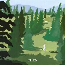 CHEN EXO - April, and a flower [April ver.] CD+Folded Poster+Gift+Tracking no.