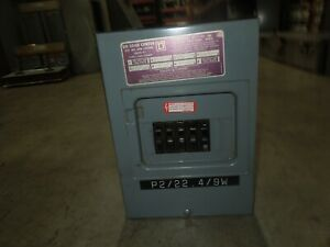 Square D QO6-12L100 100A 120/240V 1ph 6 Circuit QO Load Center w/ 5- 20A 1p