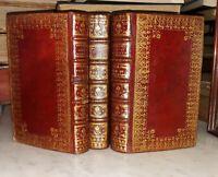 °Superbe Rel. XVIII° Fleur de Lys 3 vol.- Introduction au Saint Ministère, 1750