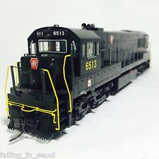 Korea Brass HO 1/87 Scale GE U25C U252020 PRR #6513 DC only Detailed Model Train