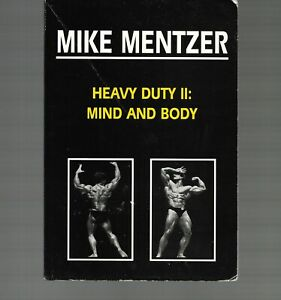 Heavy Duty II: Mind and Body / Mike Mentzer / Paperback / Bodybuilding