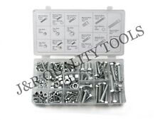 240pc METRIC NUTS BOLTS SCREWS LOCK WASHERS ASSORTMENT