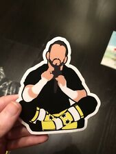 CM Punk Pipe Bomb Sticker WWE PWT Pro Wreslting Crate